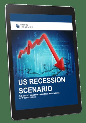 US Recession Scenario Service Tablet Cover