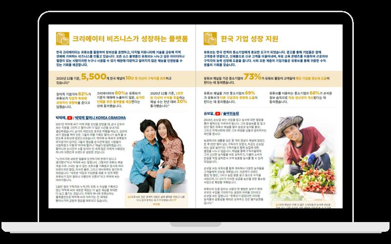 YouTube Economic Impact report - South Korea - 2